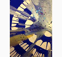 Spin Art Paint and Glitter Abstract Unisex T-Shirt