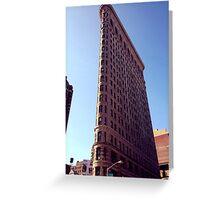Flatiron Building NYC Greeting Card