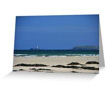 Porth Kidney Sands III Greeting Card