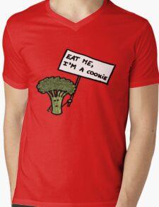 Cookie Mens V-Neck T-Shirt