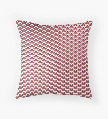 Pokeball pattern Throw Pillow