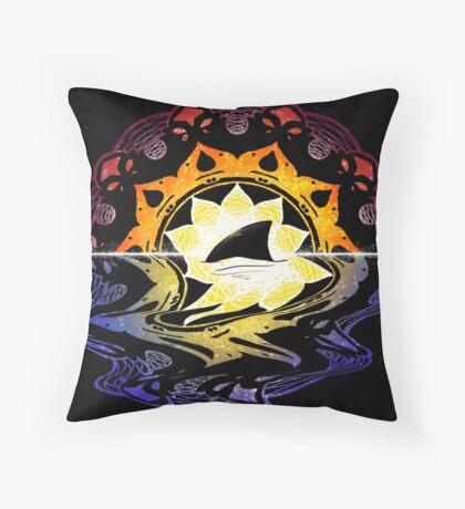 Mandala Sunset Throw Pillow