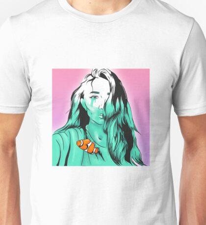 Crying a river Rowan Blanchard Nemo fish Unisex T-Shirt