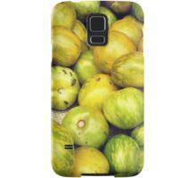 Green Tomatoes Photo Samsung Galaxy Case/Skin