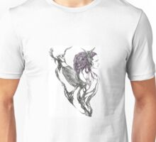 The Witch and the Crow Unisex T-Shirt