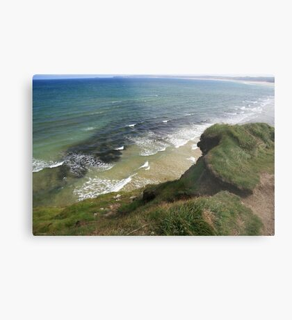 View form the Costal Path Metal Print