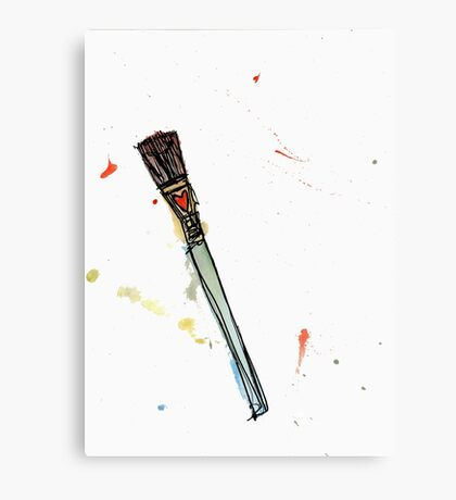 love brush Canvas Print