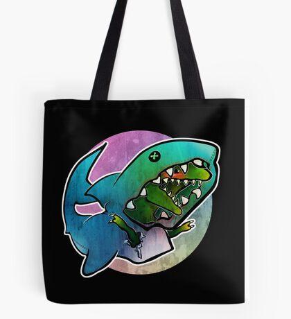 I'd rather be a shark Tote Bag