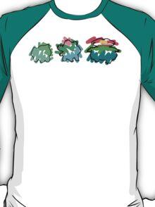 Bulbasaur Evoloution T-Shirt