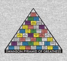 The Swanson Pyramid of Greatness by FeralRabbit