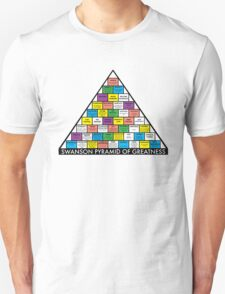 The Swanson Pyramid of Greatness T-Shirt