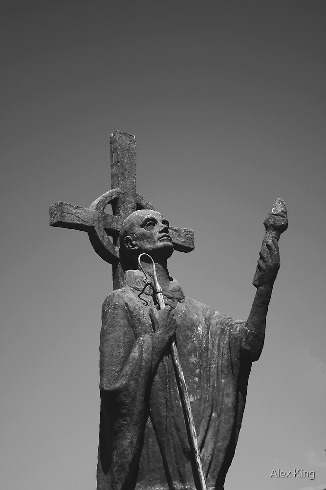 St. Cuthbert himself by Alex King