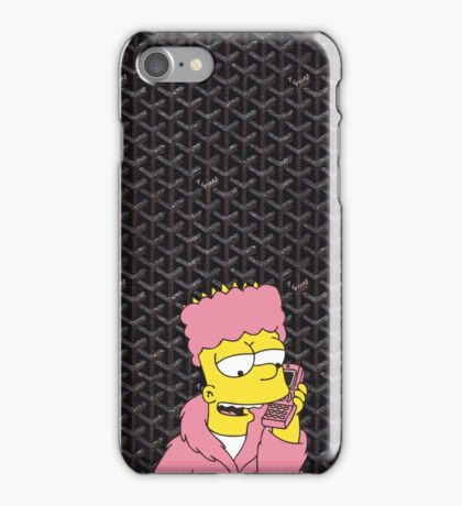 Goyard Killabart Black iPhone Case/Skin