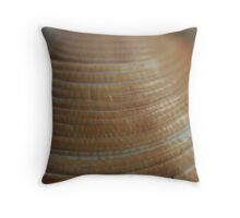 Sea shells on the sea shore Throw Pillow