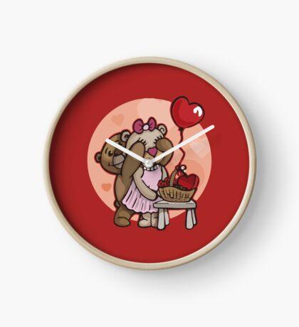 Teddy Bear Love Clock