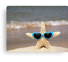 Stylin' Starfish Canvas Print