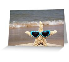Stylin' Starfish Greeting Card