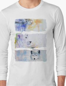 MATER NATURAE WHITE DOSSIER Long Sleeve T-Shirt