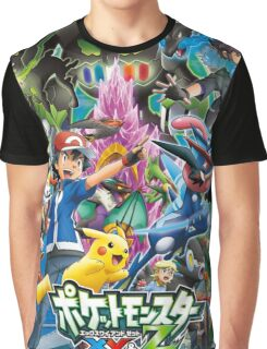 XYZ All-Over Graphic T-Shirt