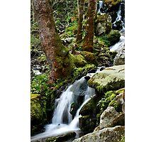 Wet Weather Cascade Photographic Print