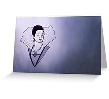 Queen Anne Greeting Card