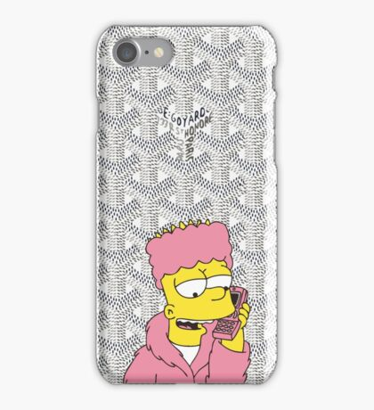 Killa bart Goyard Funny White  iPhone Case/Skin