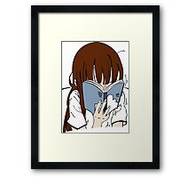 Bookworm Framed Print