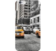 Yellow Taxis....New York City iPhone Case/Skin