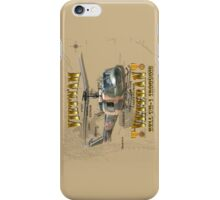 UH-1 Iroquois Vietnam Veteran iPhone Case/Skin