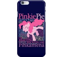 The Many Words of Pinkie Pie iPhone Case/Skin