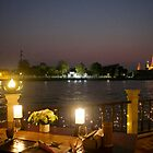 View from dinner at Chakrabongse Villas in Old Bangkok by Ren Provo