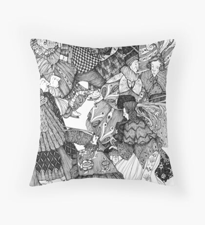 The Great Skate Throw Pillow