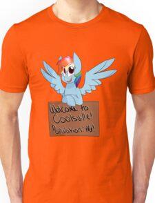 Rainbow Dash - Coolsville Unisex T-Shirt