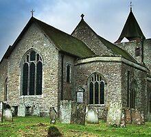 St Nicholas Church Leeds Kent by Ian Elmes