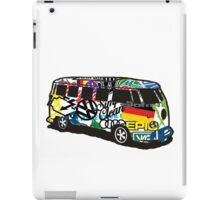 VW STICKER BOMB BUS iPad Case/Skin