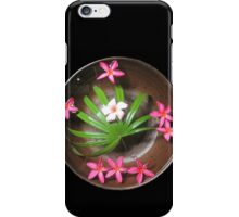 More Thai Floating Flower Arrangements iPhone Case/Skin