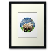 The Bumble-bear Framed Print
