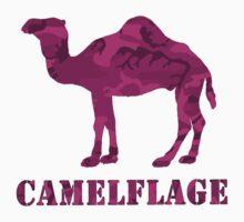 CAMELflaged...PINK! Kids Tee
