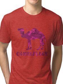 CAMELflaged...PINK! Tri-blend T-Shirt
