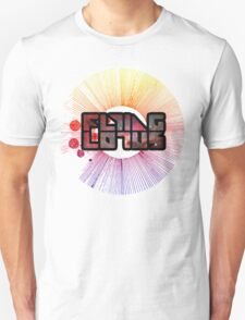 Colorful Cosmo Flying Lotus T-Shirt