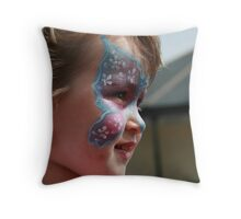 Pretty Butterfly Throw Pillow