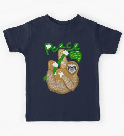 Sloth Peace Offering! Kids Tee
