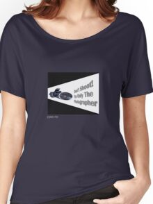 Don't Shoot! I'm only the photographer Women's Relaxed Fit T-Shirt