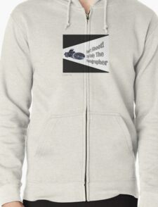 Don't Shoot! I'm only the photographer Zipped Hoodie
