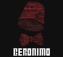 Geronimo - 11th Doctor's Quote - Doctor Who Kids Clothes