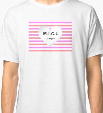 Heart and Stripes M-I-C-U Classic T-Shirt