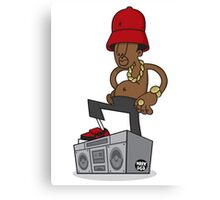 Evolution Of The B-Boy - LL Cool J Canvas Print