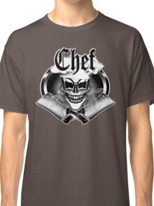 Chef Skull and Smoking Cleavers 6 Classic T-Shirt