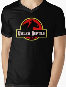Toothless - Useless Reptile Mens V-Neck T-Shirt