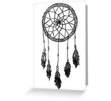 Sketchy Dreamcatcher Greeting Card